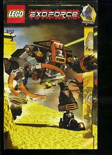 LEGO -- 8101 -  Nur Bauanleitung -- EXOFORCE --