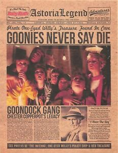 1985 The Goonies > Astoria Legend Goonies Never Say Die > Chunk > Mikey 💀🟡💀
