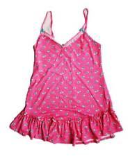 BETSEY JOHNSON Intimates Luscious Lite Pink Florals Slip Dress ( M )