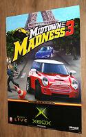 Midtown Madness 3 very rare Promo Poster 84x59.5cm Xbox