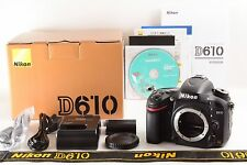 "Nikon D610 24.3MP Shutter Count""2235"" Digital SLR Camera Body     (4005)"