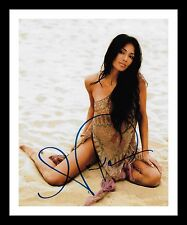 NICOLE SCHERZINGER AUTOGRAPHED SIGNED & FRAMED PP POSTER PHOTO 2