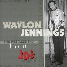 WAYLON JENNINGS New Sealed PRE-OUTLAW DAYS LIVE CONCERT CD