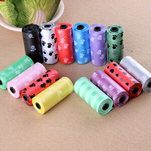 15pcs*10Roll Refill Garbage Bag Pet Poop Plastic Bags for Dog/Cat Waste Clean Up