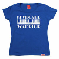 Keyboard Warrior WOMENS Banned Member T-SHIRT tee birthday music piano present