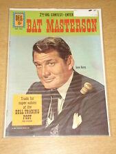 BAT MASTERSON #9 VF (8.0) DELL COMICS WESTERN JANUARY 1962