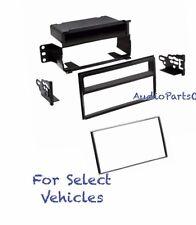 Single Double Din Car Stereo Radio Dash Kit for 2007 2008 2009-2011 Nissan Versa