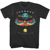 Journey Departure Vintage Album Cover Men's T Shirt Rock Band Tour Concert Merch