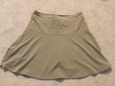 Athleta Everyday Skirt Skort Khaki Sz Women's 4