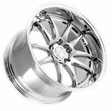"18"" DS02 18x9.5 18x10.5 +22 5x114.3 Vacuum Chrome Rims Fits Ford Mustang SN-95"