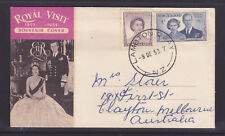 1953 ROYAL VISIT SOUVENIR COVER