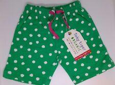 0aa1adee941f Toby Tiger Baby Shorts 6 - 12 Months Organic Cotton Dot Print Green Short