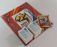 Panini 2010 South Africa WC World Cup Complete Loose Sticker Set + Empty Album
