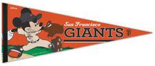 San Francisco Giants MICKEY MOUSE ACE MLB Disney Baseball Premium Felt PENNANT