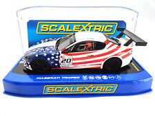 "Scalextric ""USA"" Maserati Trofeo DPR W/ Lights 1/32 Slot Car C3603"