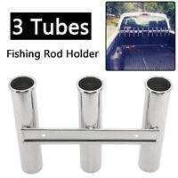 3 Rod Rack 316 Stainless Steel Rod Holder for Boat Fishing Holder Marine Rod Pod