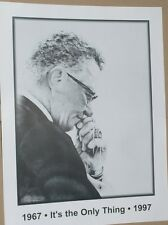 RARE Vince Lombardi 19 x 25 The Only Thing 30th Anniversary Poster - Packers HOF