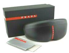 NEW Genuine PRADA Sport Sunglasses Hard Case Box Cleaning Cloth Frame EyeGlasses