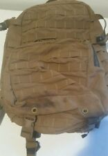 Good USMC FILBE ASSAULT PACK USGI 3 DAY SYSTEM COYOTE Bugout CIF Turn in