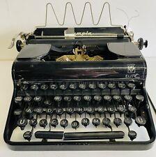 Olympia Elite Typewriter Black