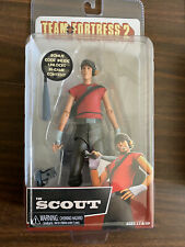 """NECA TEAM FORTRESS 2 - RED  TEAM - THE SCOUT 7"""" Action Figure - VHTF"""