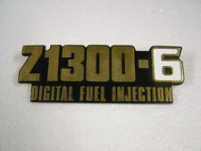 KAWASAKI . Z1300 - ZG1300 A1-A5, '83-'89  CAST REPRO SIDE COVER BADGE.