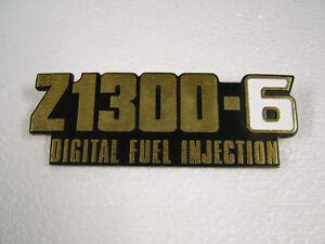 KAWASAKI . Z1300 - ZG1300 A1-A5, '83-'89  CAST REPRO SIDE COVER EMBLEM, BADGE.