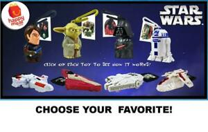 McDonald's 2010 Star Wars Clone Wars Toys & Fingerboards-Pick Your Favorite!