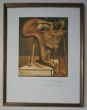"Salvador Dali ""Soft self portrait Dali"" Lithograph Limited 2000 pcs."