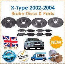 Jaguar X-Type Saloon 01-1//04 Estate 04-1//05 Front /& Rear Brake Pads