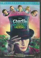 Charlie and the Chocolate Factory (Dvd, 2005) [Pg] Full Screen