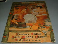 Vintage Gold Medal Flour Cookbook, Old Fashioned Home Cooking, Dinners, Meats, B