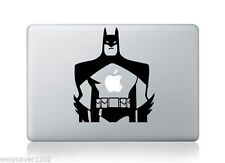"""Black Vinyl Apple Macbook Pro Air 13"""" Inch Sticker Decal Skin Cover For Laptop"""