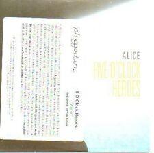 (108A) Five O'Clock Heroes, Alice - DJ CD