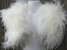 Ivory Ostrich Feather and Marabou Feather Bolero/Jacket