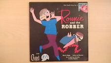 """Rare Chapel Records Hare Health Story #2 RONNIE AND THE ROBBER 7"""" 33 1/3RPM  50s"""