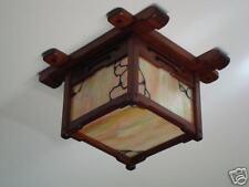 Greene & Greene Style Ceiling Light/Pratt House Replica
