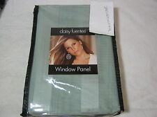 New  Daisy Fuentes Enchanted Night  Drapery Window Panel  Sage Stripe 50x84 NIP