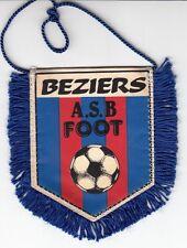 ANCIEN FANION FOOTBALL *BEZIERS A.S.B FOOT*