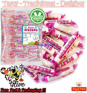 1 - 1000 Swizzels FIZZERS Sherbet Fruit Flavour Fizzy Chalk Candy Sweets Retro