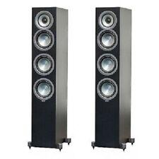 Elac Uni-Fi FS U5 Schwarz, 3-Wege Stereo Standlautsprecher,  Paarpreis, NEUWARE
