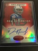 Donte Moncrief 2014 Panini Certified Rookie Auto 053/199 Colts