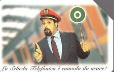 26-Scheda telefonica Telecom E' una cosa meravigliosa  Capostazione sc.12/1999