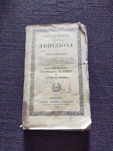Risorgimento Pellico Maroncelli prima edizione