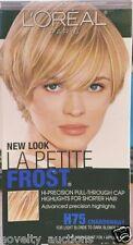 E44 LOREAL La Petite Frost Chardonnay H75  CAP HIGHLIGHTS hair color