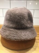 7116606e189 NWT Kangol Blue Shavora Casual Angora Blend Womens Hat Medium in Camel  Brown NEW