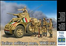 Master Box MB 1/35 35144 WWII Italian Military Men (5 Figures)