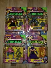 TMNT Classic Collection Bebop Rocksteady Shredder Krang Lot Nickelodeon