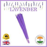 💙 LAVENDER Incense Sticks Handmade Indian Bamboo Joss Premium Fragrance Smell
