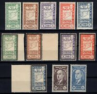 G139061/ FRENCH SYRIA – YEARS 1943 - 1944 MINT MNH / MH SEMI MODERN LOT